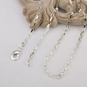 Jewelry - Sterling silver 925 2mm link Chain Necklace